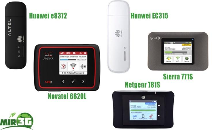 3G WiFi роутеры в интернет-магазине Mir3G