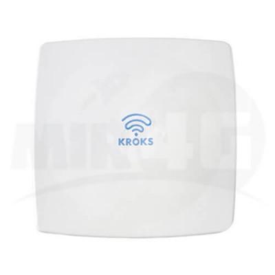 4G 3G панельная антенна Kroks MIMO 15 дБи (до 100 метров кабеля без потери скорости интернета)
