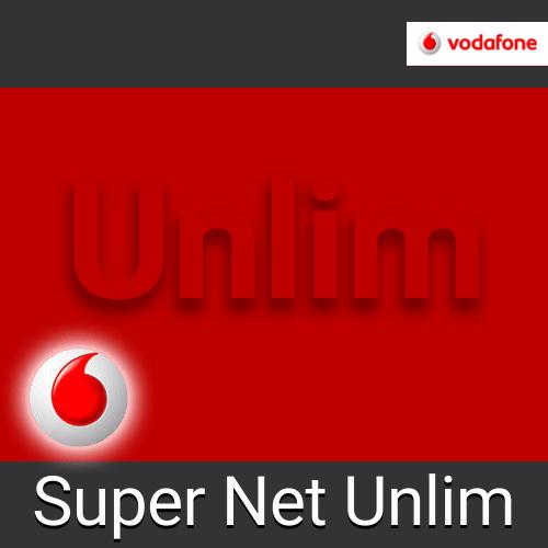Тариф Vodafone Super Net Unlim