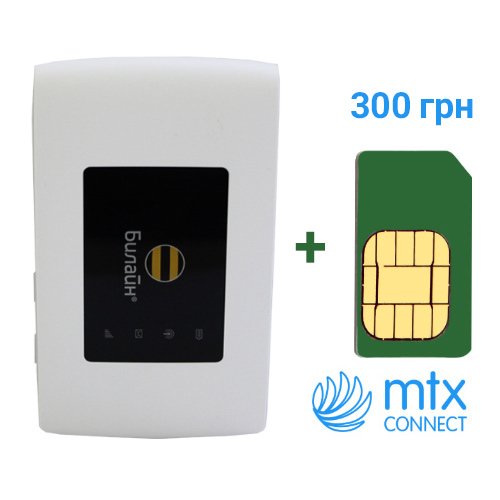 3G/4G Wi-Fi роутер ZTE MF920 (sim-карта MTX connect)