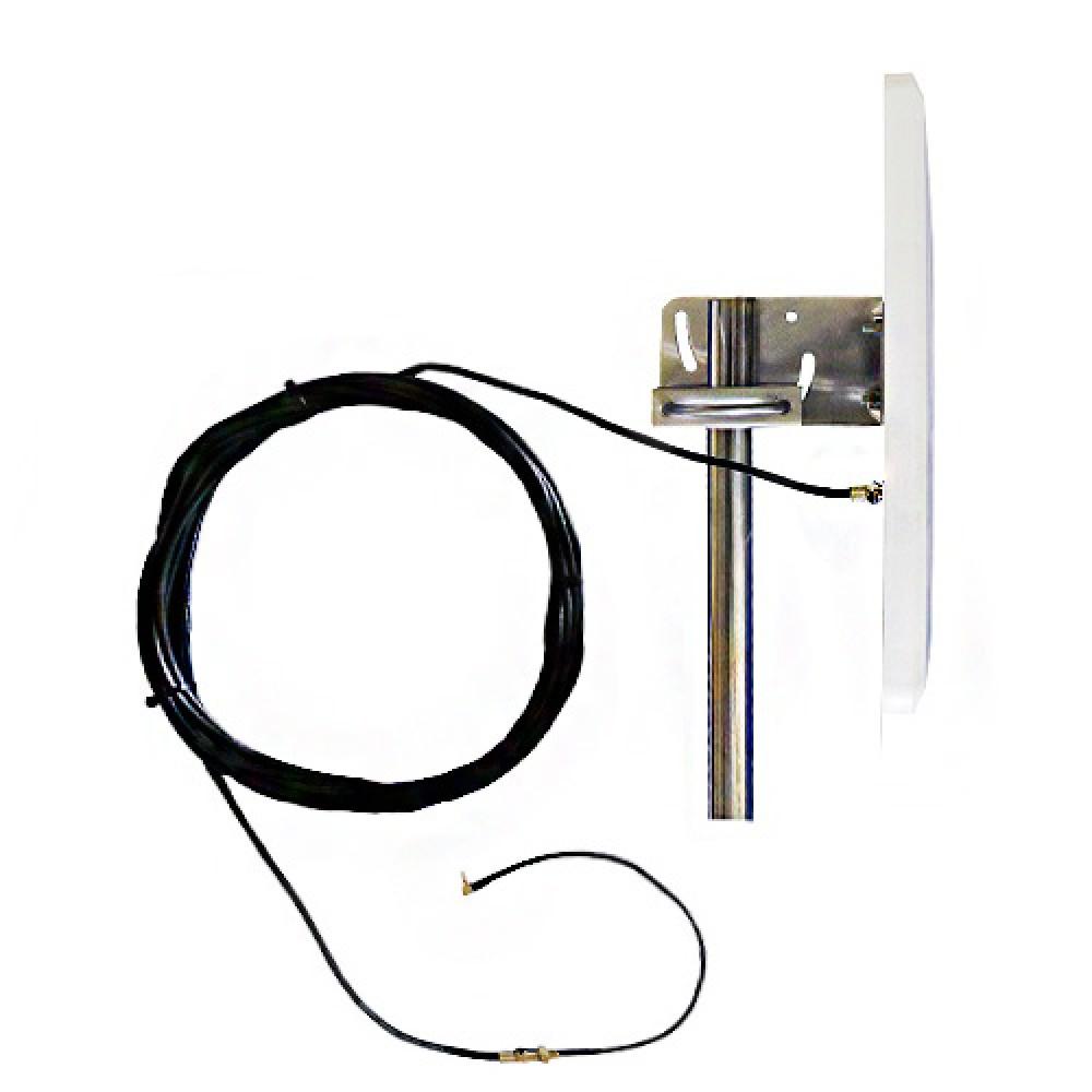Антенна панельная 4G LTE 18 дБи широконаправленная