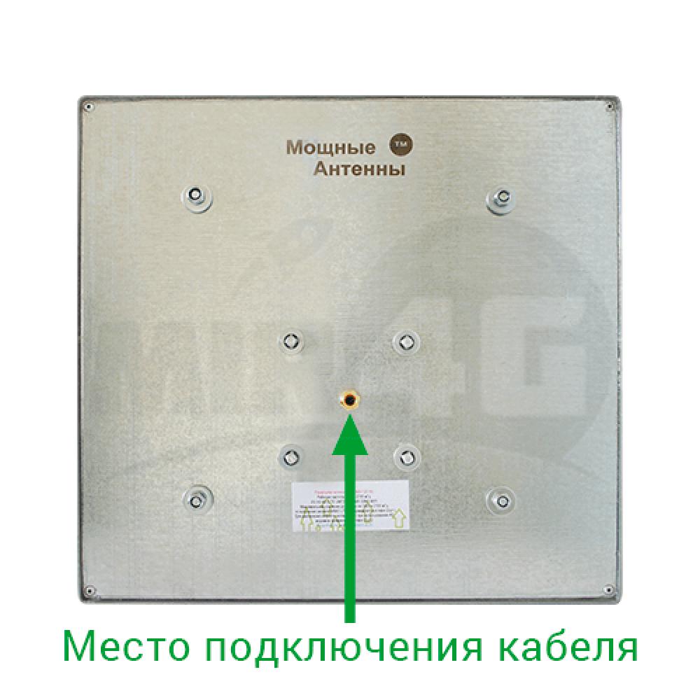 """Панельная 4G / 3G антенна """"Сарма"""" 19 дБи (в комплекте кабель 10 метров и переходник)"""