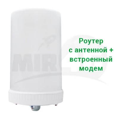 4G роутер Kroks Rt-Pot с усиливающей антенной 9 дБи (2 в 1, Wi-Fi роутер и антенна)