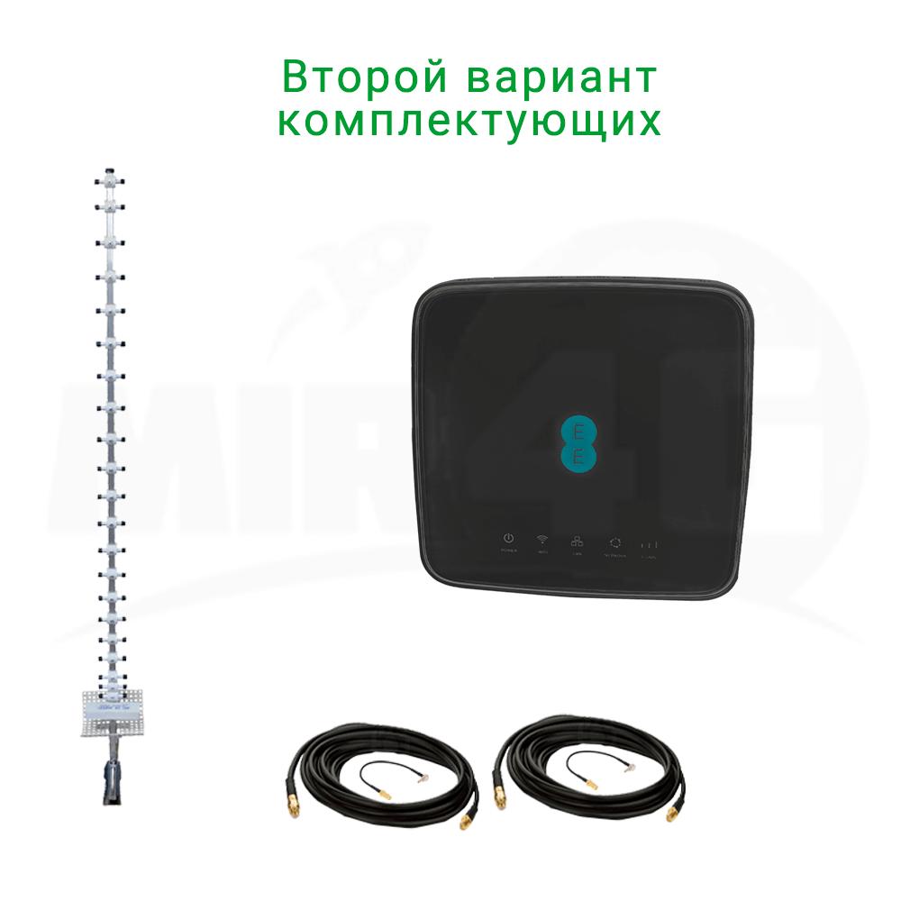 """4G комплект """"Двойная скорость"""" (роутер Huawei Alcatel HH70 и антенна панельная или направленная) 4G / 3G / LTE"""