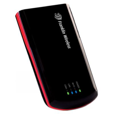 3G WiFi роутер Franklin R526 (хорошо работает в местах со слабым уровнем покрытия)