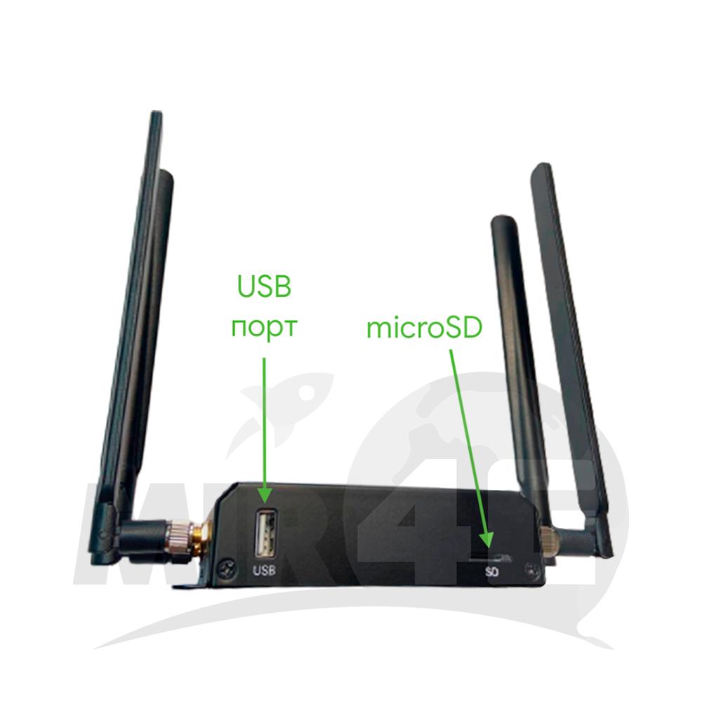 4G стационарный Wi-Fi роутер HiNet 150 (4G до 150 Мбит/с, Wi-Fi до 300 Мбит/с)