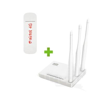 """Готовый к работе комплект """"Базовый Lite"""" (роутер Netis + скоростной модем) 4G / 3G / LTE"""