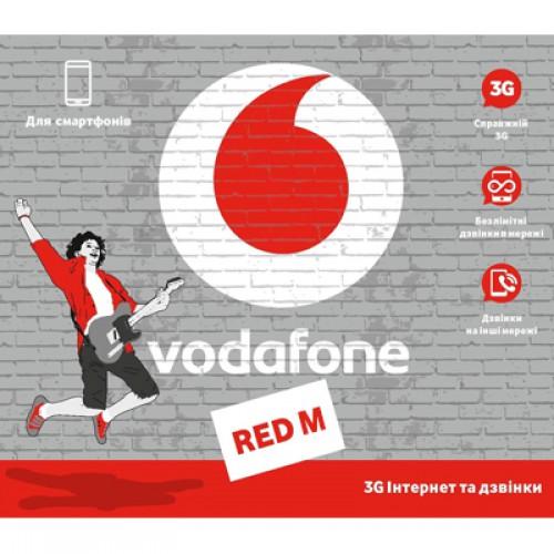 Стартовый пакет Vodafone Red M