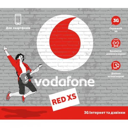 Стартовый пакет Vodafone Red XS