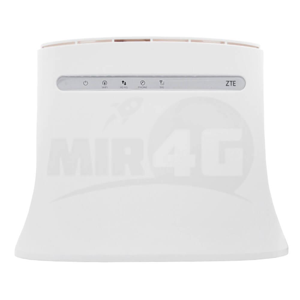4G Wi-Fi роутер ZTE MF 283U (2 разъема под антенну, без телефонных выходов)