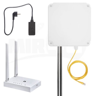 4G Интернет комплект Power Box с двумя роутерами и модемом (WiFi на участке и в доме)