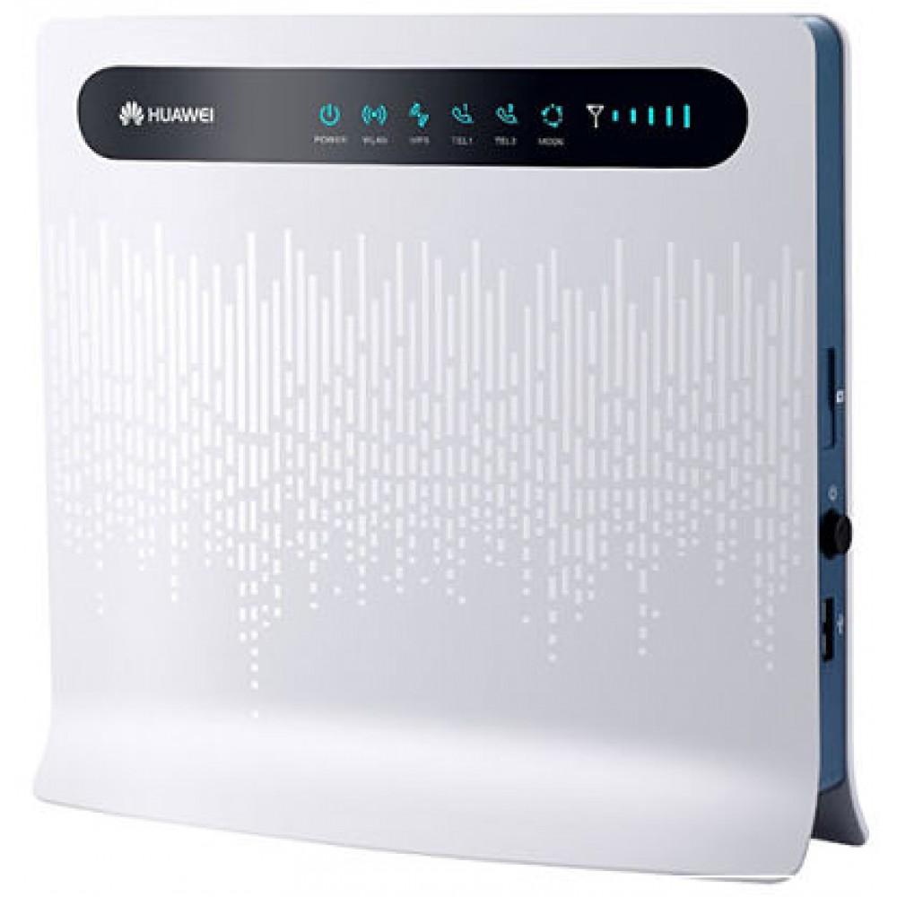 4G/Wi-Fi роутер Huawei B593 (наиболее стильный дизайн и практичный функционал)