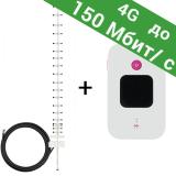 4G / 3G WiFi роутер Huawei E5577UA + антенна (адаптирован под украинских операторов)