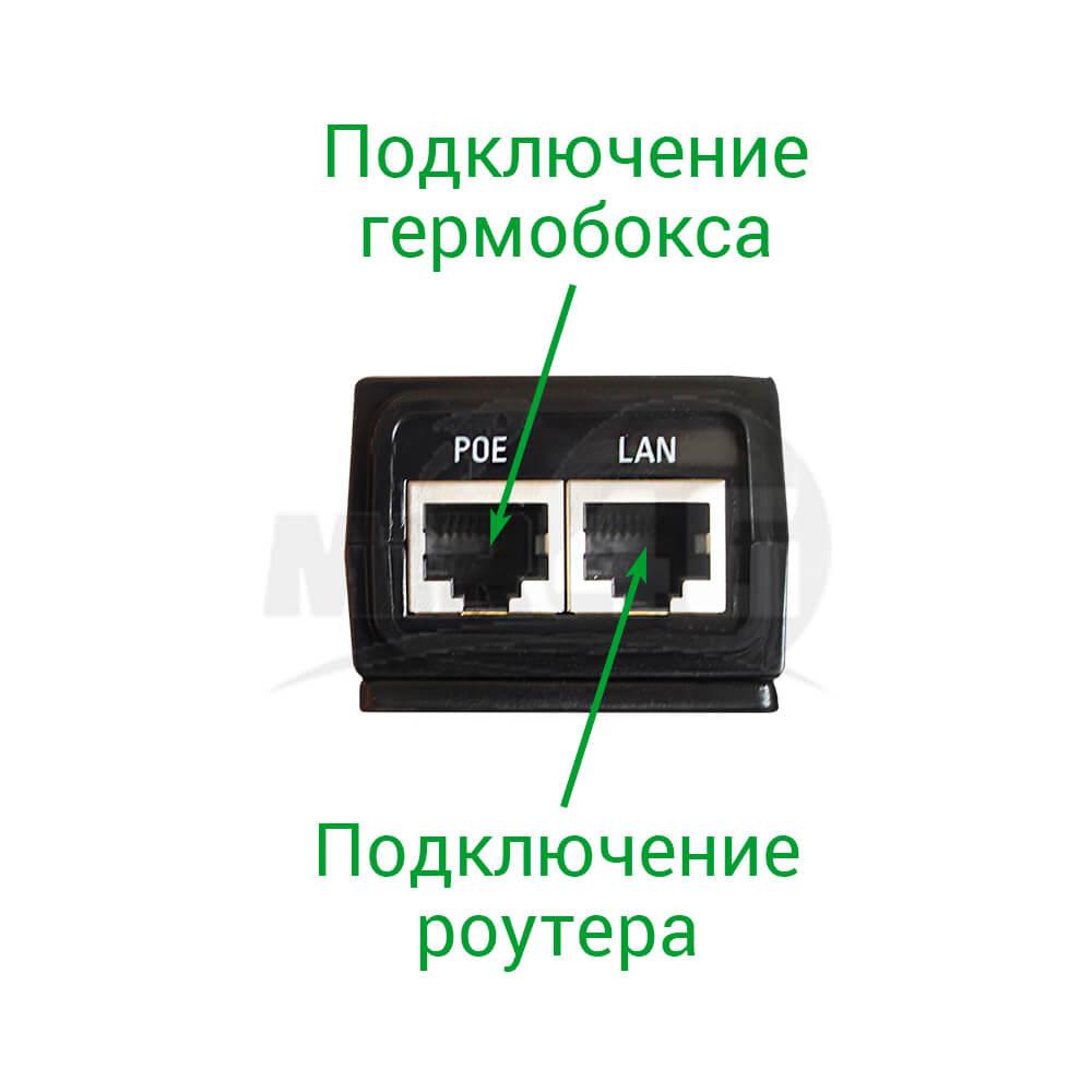 """Готовый к работе комплект интернета """"Power Box L"""" (с мощной антенной, модемом, двумя роутерами)"""