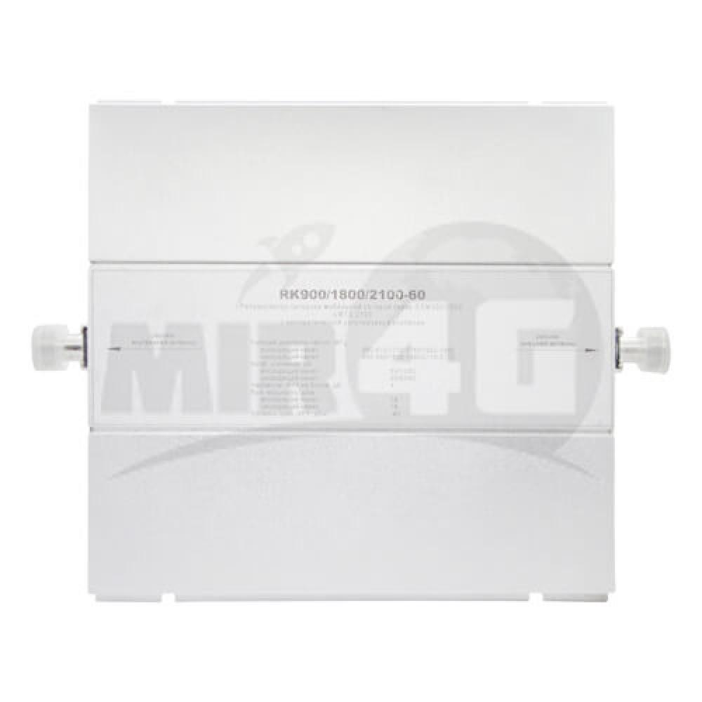 4G 3G 2G трехдиапазонный повторитель сигнала KROKS (усиливает голосовую связь и Интернет на площади до 500 кв.м.)