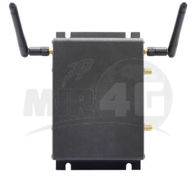 4G роутер Kroks RtCse4 с двумя Sim-картами (железный корпус, усиленный прием,  до 150 Мбит/с)
