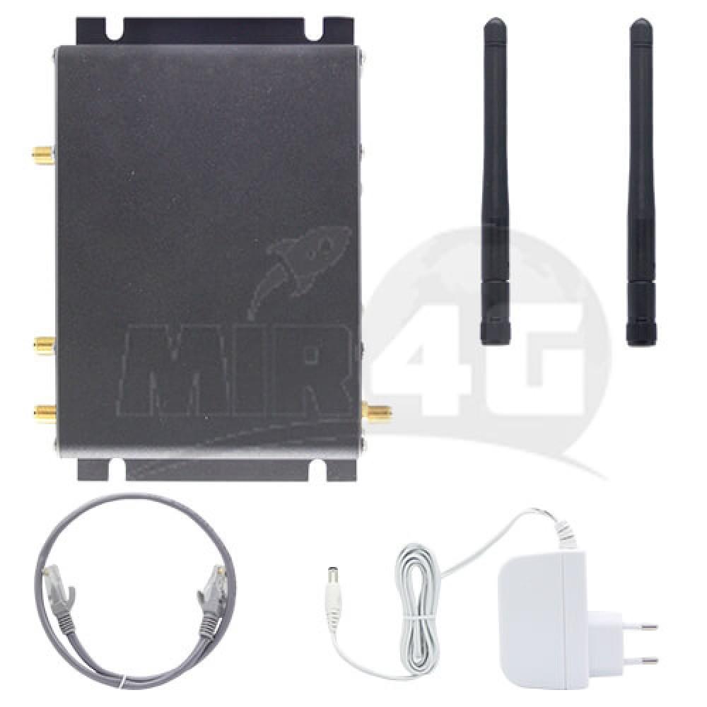 4G роутер Kroks RtCse4 с Sim-картой (железный корпус, усиленный прием,  до 150 Мбит/с)