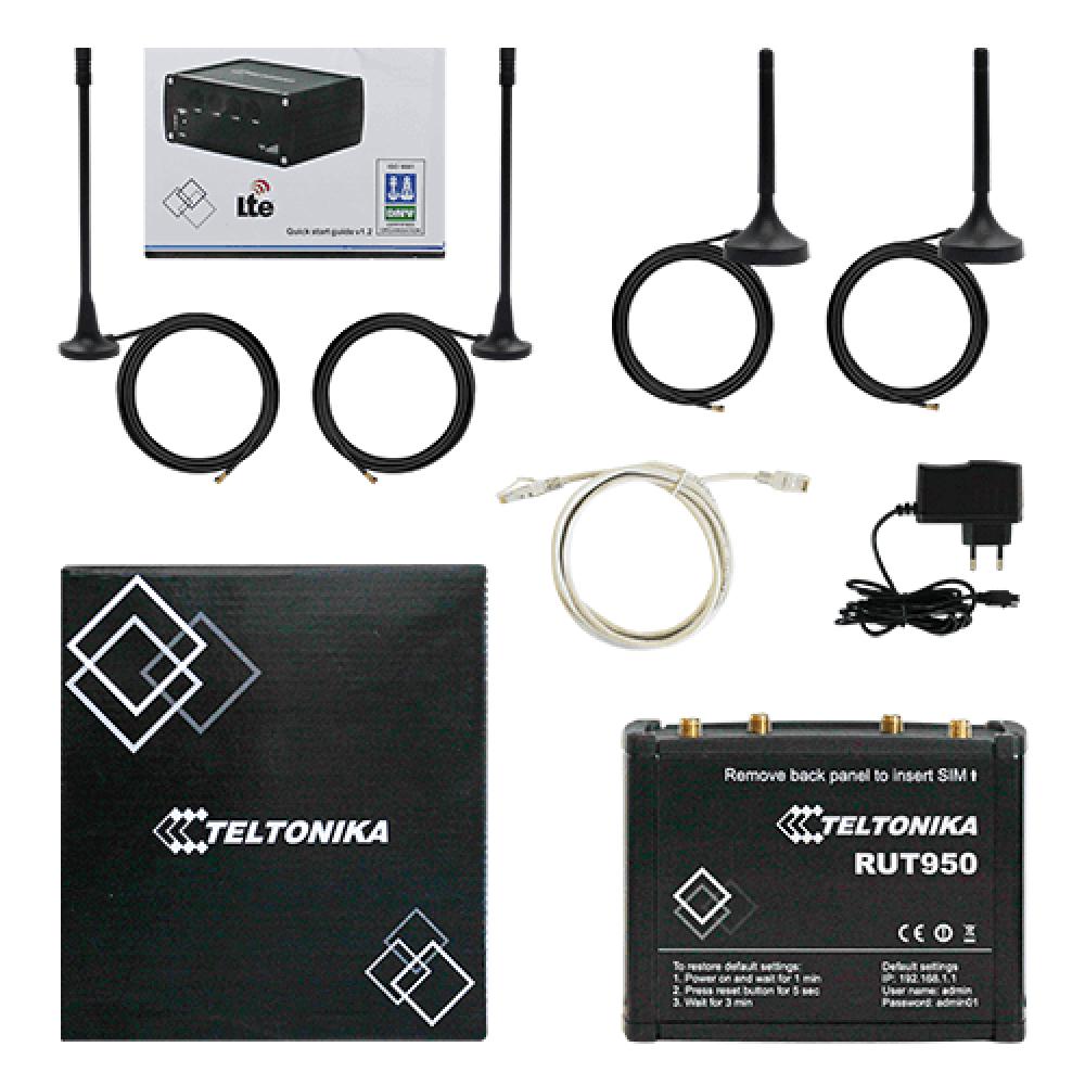 Промышленный пыле/влаго защищенный 4G / 3G роутер Teltonika RUT950