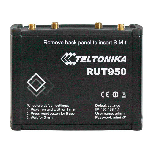 3G/4G роутер Teltonika RUT950 (промышленный роутер)