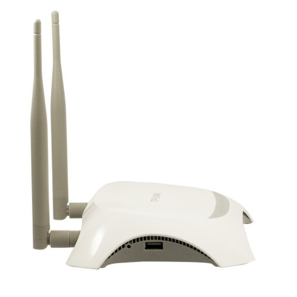 3G WiFi роутер Tp-Link TL-MR3420 (развивает скорость передачи данных до 300 Мбит/сек)