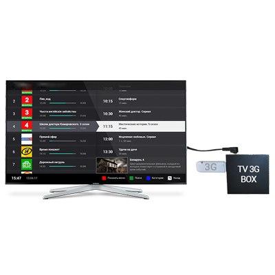 Мультимедийная приставка TV 3G Box (2 в 1 - Интернет и телевидение )