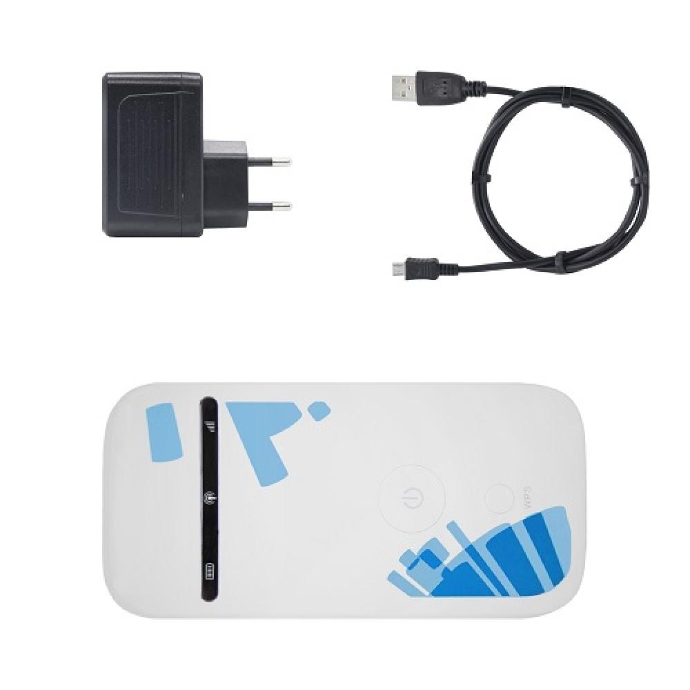 3G WI-Fi роутер ZTE MF65 (подходит для заграницы)