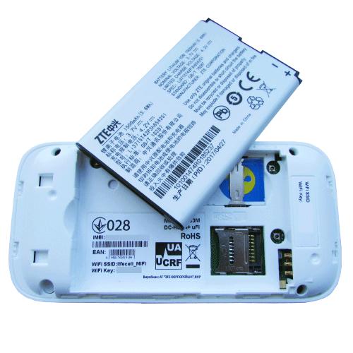 ZTE mf83M аккумулятор